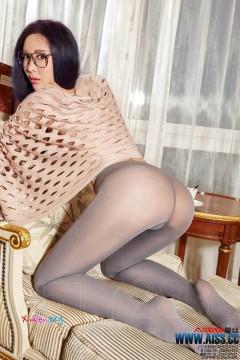AISS爱丝 肥臀香艳模特索菲勾魂性感丝袜艺术大片 103P