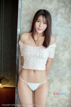 [TGOD推女神] 文静气质桃乳囡囡宋梓诺玲珑别致酥臀室内私房 56P