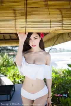 [MiStar魅妍社] 第89期 治愈气质御姐沈佳熹羞耻肥厚骆驼趾迷人白色泳衣外拍写真 60P