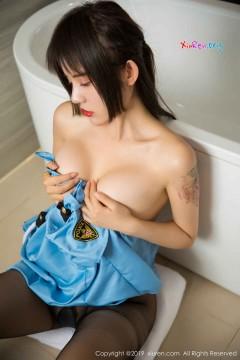 [秀人网XiuRen] N01438 气质翘臀少妇Cris_卓娅祺角色扮演制服诱惑性感黑丝浴室写真 60P