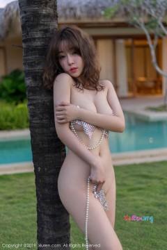 [秀人网XiuRen] N01470 粉臀酥胸蜜桃王雨纯娇羞泳池半裸人体艺术写真 46P