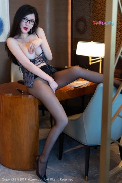 [秀人网XiuRen] N01530 浓艳红唇骚魅女郎心妍小公主包臀紧身短裙性感丝袜私拍 50P
