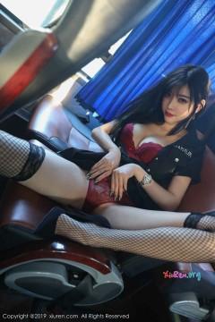 [秀人网XiuRen] N01771 90后魅力粉臀网红杨晨晨sugar户外公交车露出创意热辣内衣写真 56P
