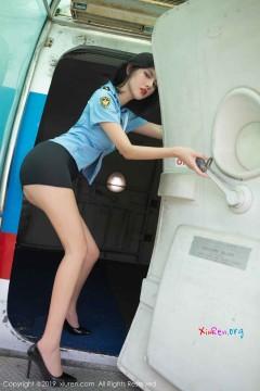 [秀人网XiuRen] N01781 艳媚丽人阿朱机舱火爆制服诱惑糖水写真大片 87P