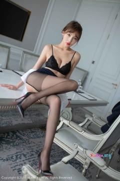 [秀人网XiuRen] N01763 90后曼妙酥胸模特陆萱萱开档黑丝惊艳艺术私房 67P