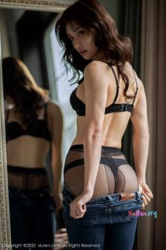 [秀人网XiuRen] N01901 勾魂气质黑长直美女林文文yooki婀娜紧牛黑丝美臀室内唯美个人写真 65P