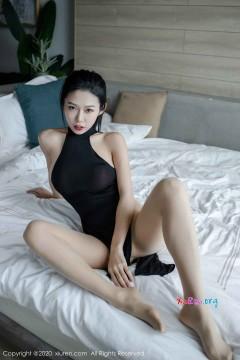 [秀人网XiuRen] N01966 美艳时髦肉臀辣妹luvian本能风情连体长裙激情室内私拍 43P