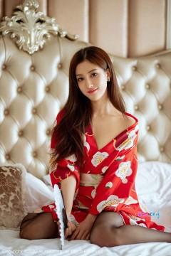 [秀人网XiuRen] N02015 甜美大眼阳光尤物林文文yooki旅馆优美浴衣风情商务写真 65P