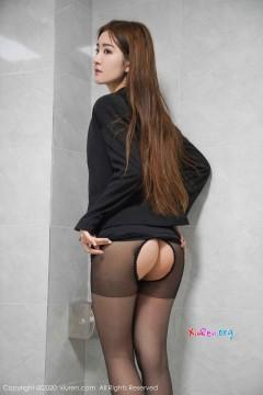 [秀人网XiuRen] N02017 雪乳翘臀多汁柔美宝贝沈梦瑶室内创意露骨挑逗风情写真 45P