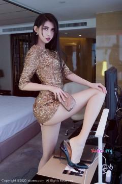 [秀人网XiuRen] N02061 九头身红唇艳舞女郎葛征白嫩垂涎逆天长腿光怪陆离商务写真 83P