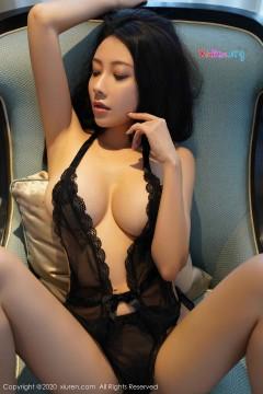 [秀人网XiuRen] N02039 热门网红模特果儿Victoria动人深v连体情趣内衣宾馆唯美艺术私拍 41P