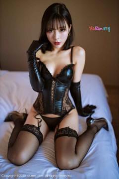[秀人网XiuRen] N02068 开朗非主流冷艳辣妹陈小喵漆皮情趣内衣室内迷人写真 65P