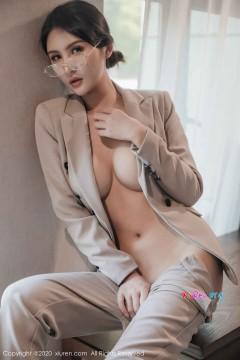 [秀人网XiuRen] N02098 娇美狂野写真模特Emily顾奈奈真空开胸西装时尚私拍大片 62P
