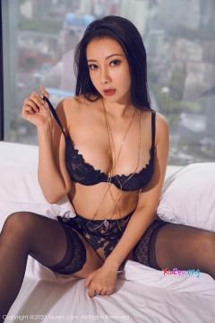[秀人网XiuRen] N02142 火爆婀娜大波女郎果儿Victoria魅惑蕾丝内衣室内野性私拍 58P