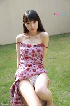 [秀人网XiuRen] N02156 清纯一线天粉唇邻家女生小水blue性感香艳情趣内裤户外极品美女写真 59P