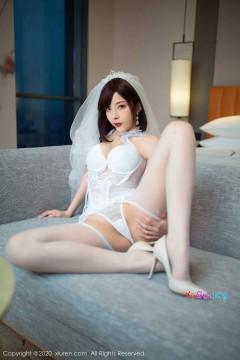 [秀人网XiuRen] N02348 骚气野性短发妹妹陈小喵洁白婚纱内衣创意私密人体写真 75P